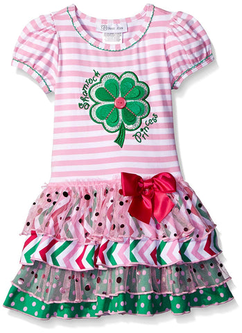 Bonnie Jean Shamrock Princess St. Patrick's Day Dress