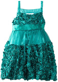 Bonnie Jean Gold or Green Bonaz Special Occasion Dress