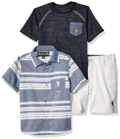 English Laundry 3pc Boys Shorts Set