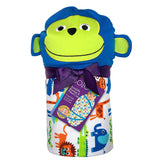 Sozo Character Baby Swaddle Blankets with Hat