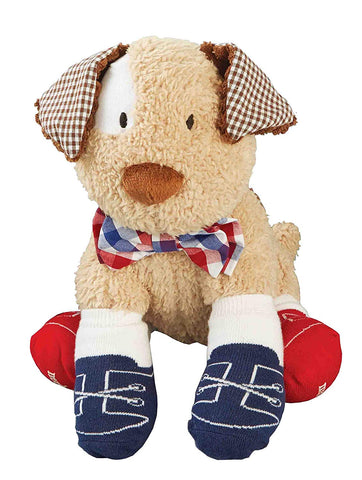 Mud Pie Bow Tie Sock Puppy