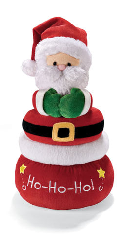 Gund Plush Baby Santa Stacking Rings