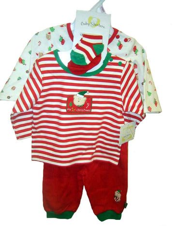 Baby Starters Christmas Layette Set