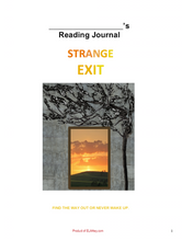 Strange Exit by Parker Peevyhouse resources material classroom teaching