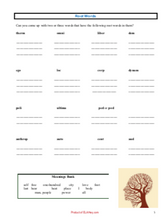 Word Parts Pack: Prefixes, Root Words, & Suffixes Activity Mini-Unit (13 pgs)