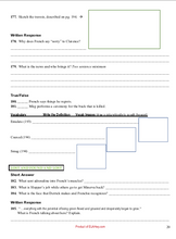 The Marrow Thieves Cherie Dimaline resources: chapter questions workbook, tests, assessments, journal, printables, worksheets