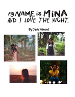 My Name is Mina and I Love the Night by David Almond Workbook Cover page