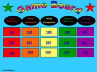 Body Paragraphs Trivia Game: Interactive! Kids love it