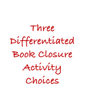 Post-Reading: Fun Closure Activities