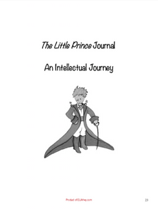 The Little Prince BIG Pack: 68 pgs. of tests, chapter questions, graphic organizers, writing activities...