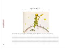 The Little Prince by Antoine de Saint-Exupery novel materials, tests, chapter questions...