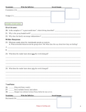 The Marrow Thieves Cherie Dimaline products: workbook, chapter questions, tests, assessments, dual entry journal, resources
