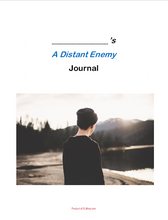 A Distant Enemy by Deb Vanasse: Dual Entry Reading Journal
