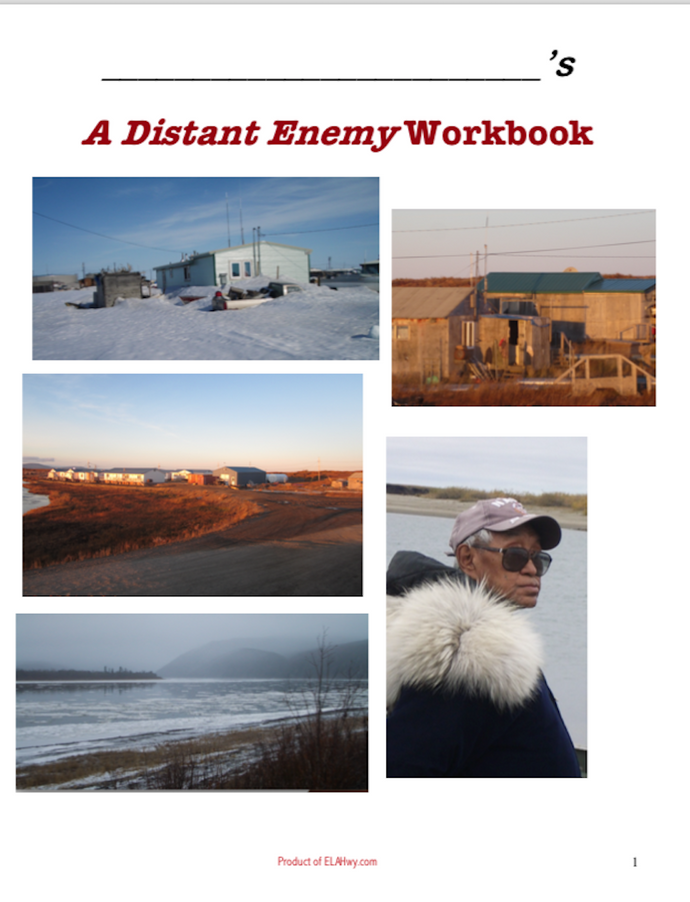 A Distant Enemy by Deb Vanasse: Workbook & Tests