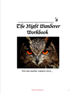 The Night Wanderer Drew Hayden Taylor tests, chapter questions, resources, materials, activities, quiz, workbook, graphic organizers