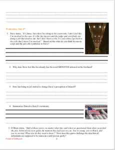 Monster: Workbook and Literary Elements & Plot Worksheets Bundled