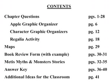 Apple in the Middle by Dawn Quigley chapter questions & more