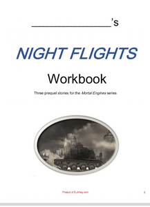 Night Flights by Philip Reeve workbook