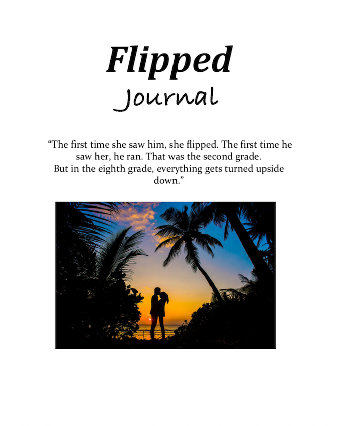 Flipped by Wendelin Van Draanen: Dual Entry Reading Journal