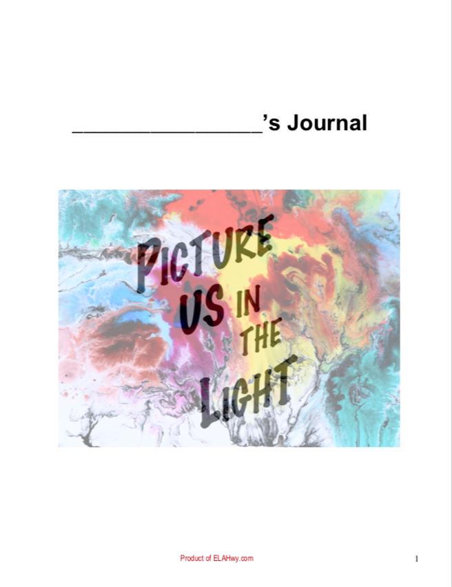 Picture Us in the Light by Gilbert (resources materials classroom teacher resources)