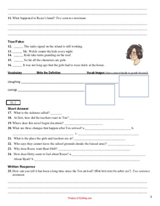 Wilder Girls by Rory Power classroom resources teaching materials
