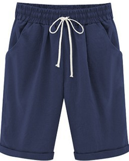 Curvedgirl Short Casual Blend Pants