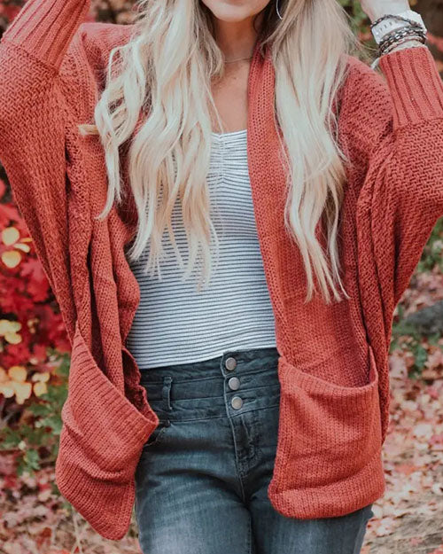 Curvedgirl Cardigan Large Size Knit Coat Sweater