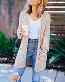 Curvedgirl Medium Long Thick Cardigan Sweater