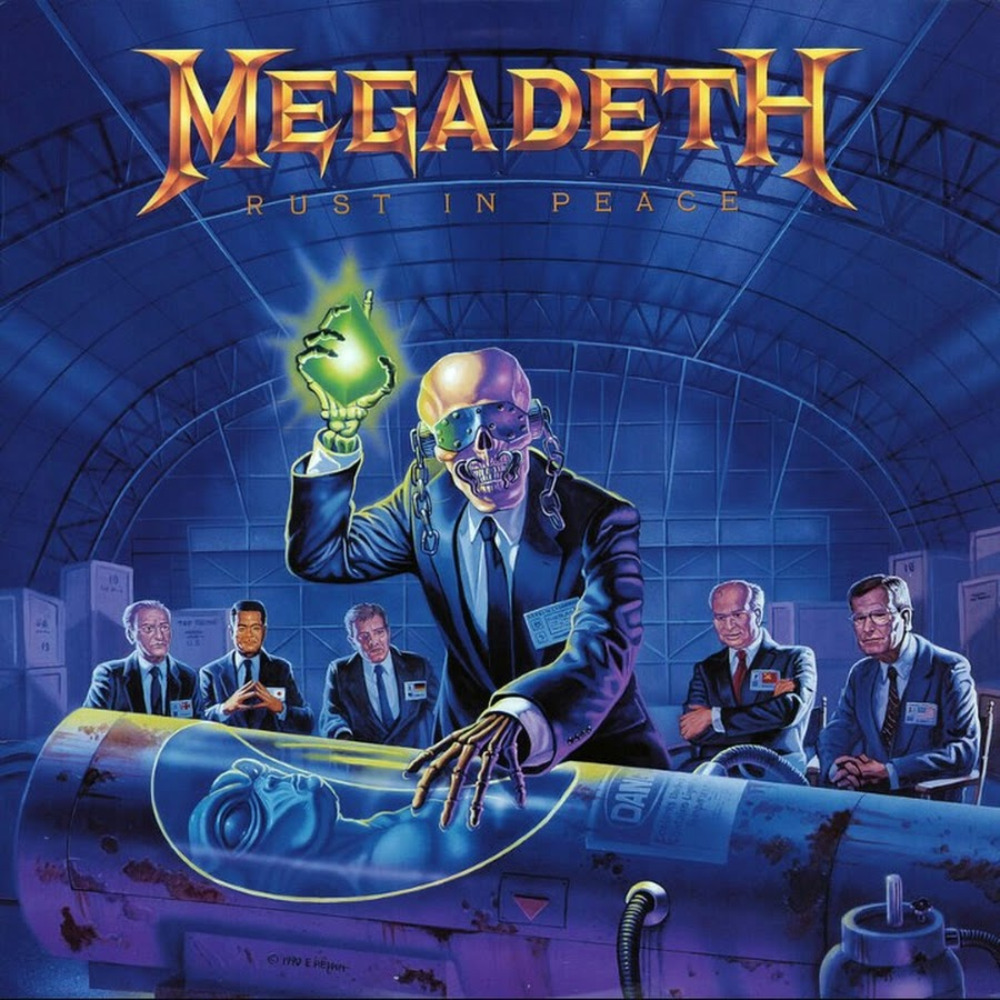 CD MEGADETH Rust In Peace