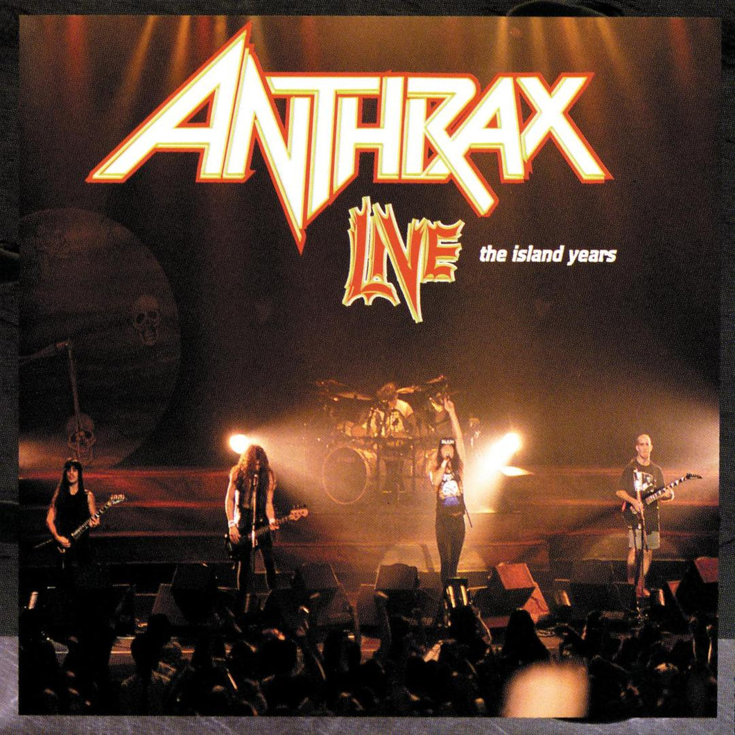 CD ANTHRAX Live: The Island Years
