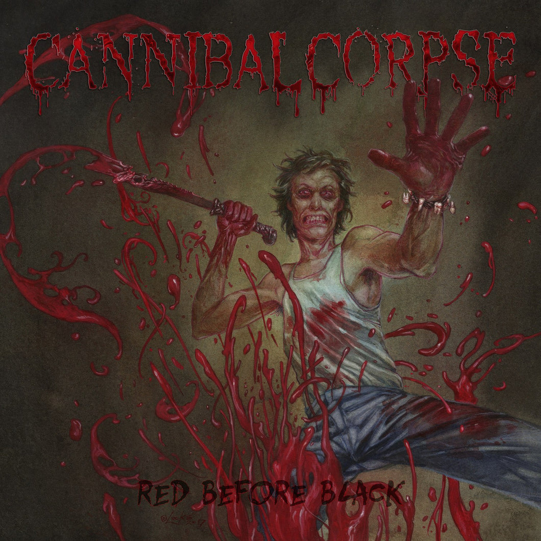 CD CANNIBAL CORPSE Red Before Black (édition digipack)