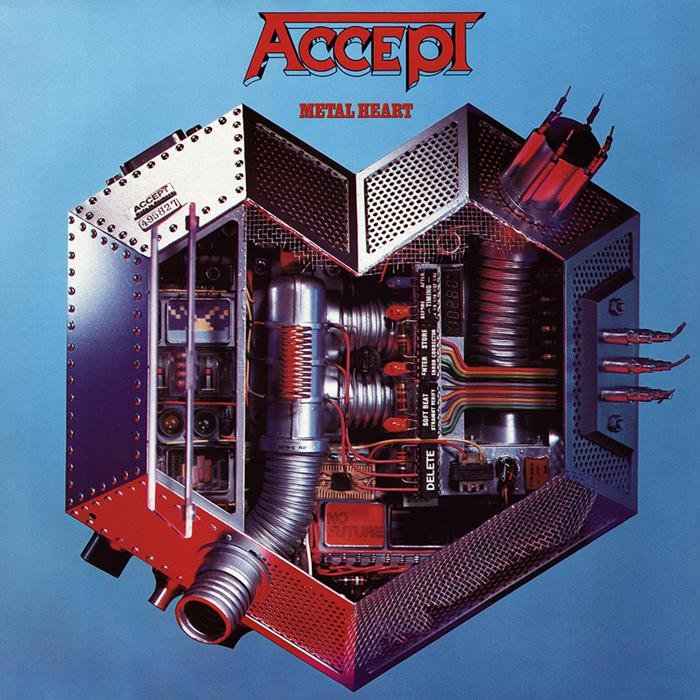 CD ACCEPT Metal Heart (+ Live In Japan Kaizoku Ban)