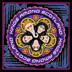 DVD ANTHRAX Kings Among Scotland (édition digipack 2 DVD)