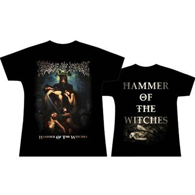 T-shirt Cradle Of Filth - Hammer of the witches