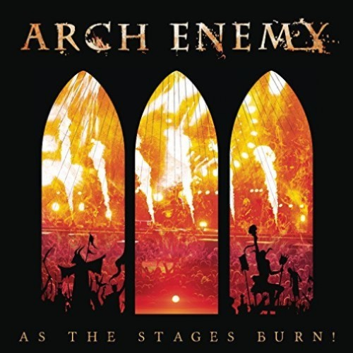 CD ARCH ENEMY As The Stages Burn! (édition digipack) (CD+DVD) [USA EDITION]