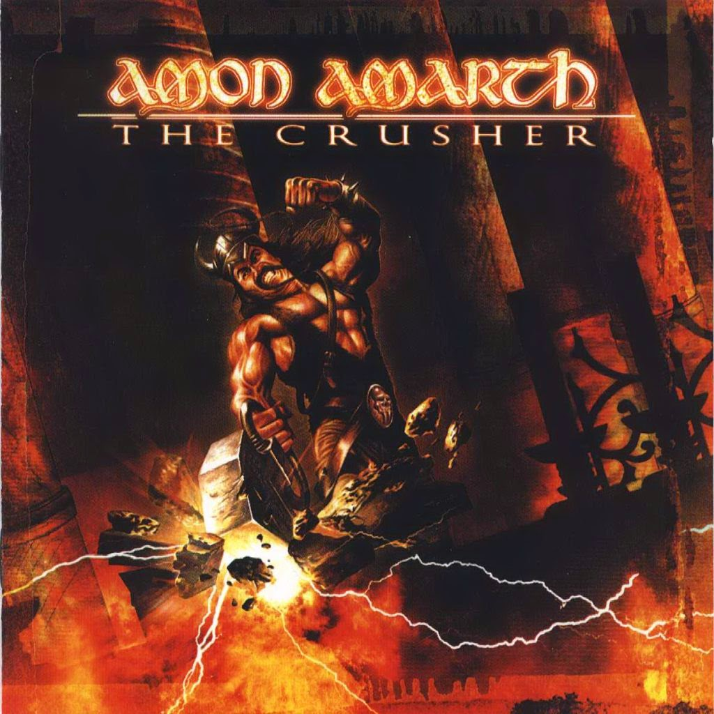 CD AMON AMARTH The Crusher