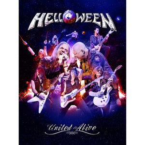 CD HELLOWEEN United Alive (édition digipack 3CD Digi)