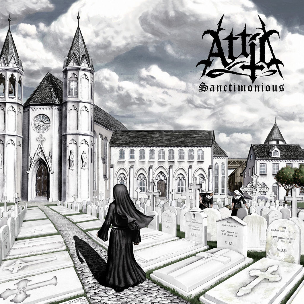 CD ATTIC Sanctimonious (édition digipack)