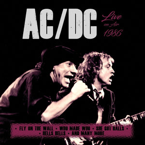 CD AC/DC Live On Air 1986