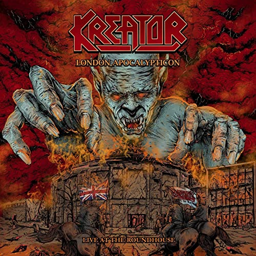 CD KREATOR London Apocalypticon (Live At The Roundhouse)