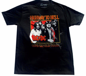 T-shirt AC/DC - Highway To Hell 1979 World Tour