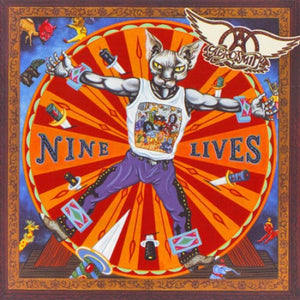 CD AEROSMITH Nine Lives