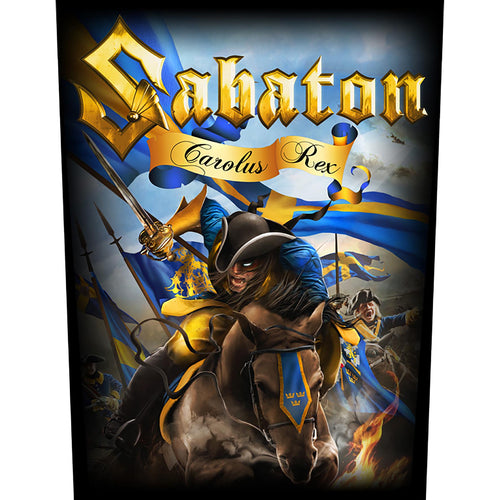 Backpatch SABATON - Carolus Rex