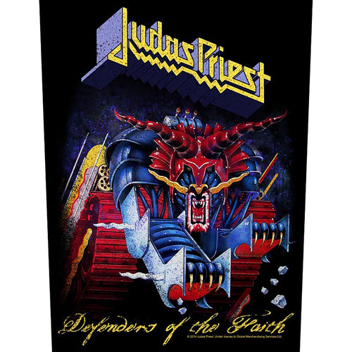 Backpatch JUDAS PRIEST - Defenders Of The Faith