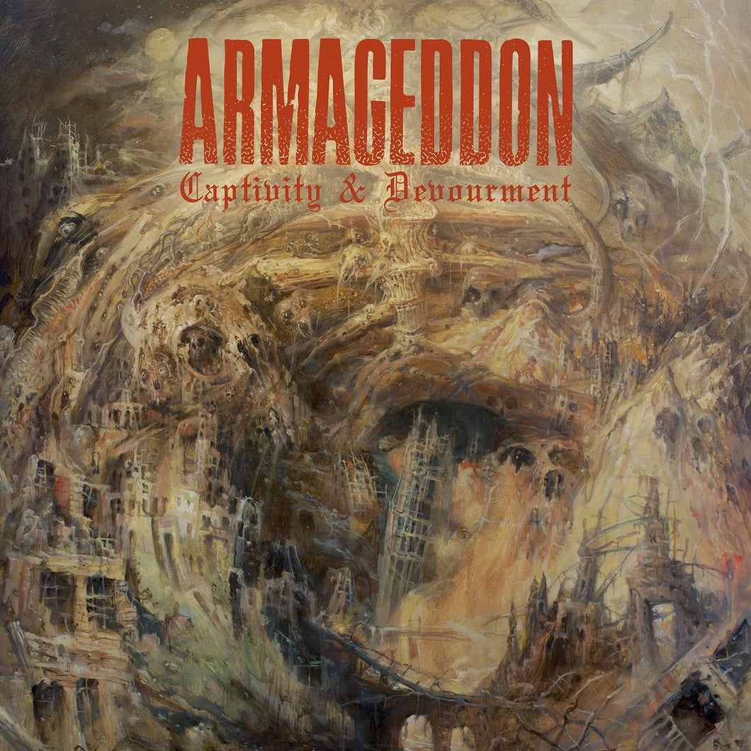 CD ARMAGEDDON Captivity & Devourment (édition digipack)