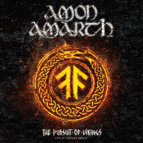 CD AMON AMARTH The Pursuit Of Vikings : 25 Years In The Eye Of The Storm (2DVD + CD)