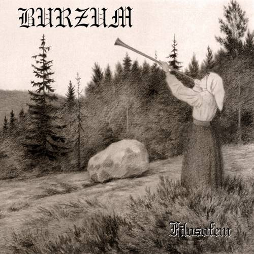LP BURZUM Filosofem - Double LP