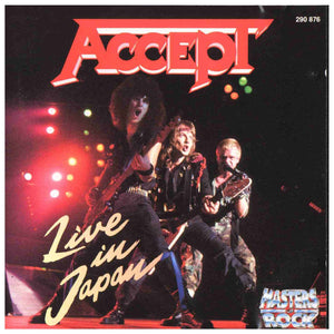 CD ACCEPT Live In Japan