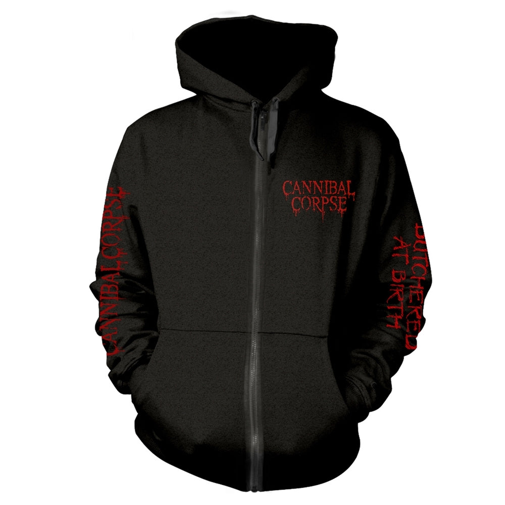 Hoodie CANNIBAL CORPSE - Butchered At Birth