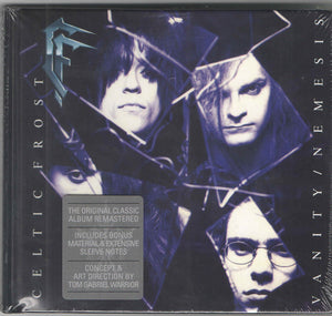 CD CELTIC FROST Vanity/Nemesis (édition digibook)